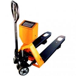 Hidraulinis vežimėlis su svarstyklėmis