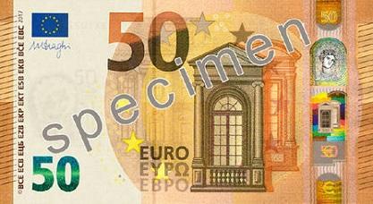 Naujas 50 Euro banknotas