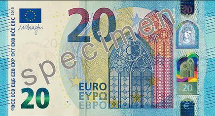 Naujas Euro banknotas